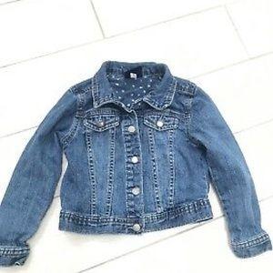 Genuine Kids by OshKosh Jeans Jacket Size 3T Girls